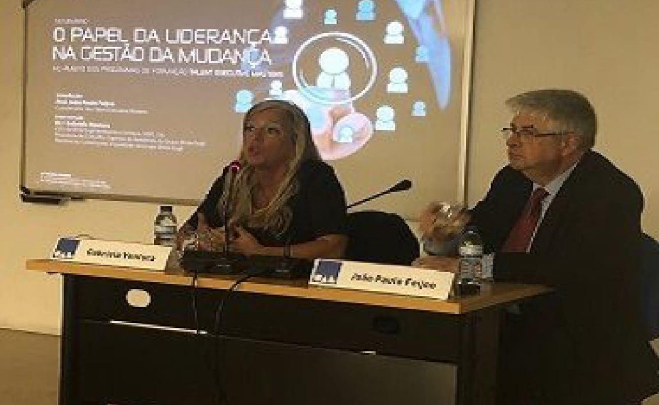 Conferência O Papel Da Liderança Na Gestão Da Mudança