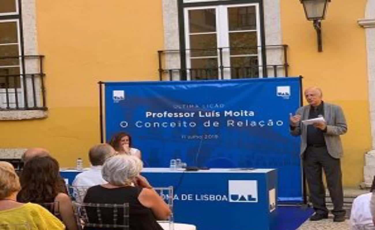 Notícia Última Lição - Professor Doutor Luís Moita